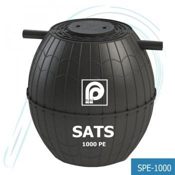 ถังบำบัดน้ำเสีย SATS PE (รุ่น SPE-1000)