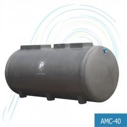 ถังบำบัดน้ำเสีย แอโรแมกซ์ (รุ่น AMC-40 ปริมาณ น้ำเสีย 40 ลบ.ม.)