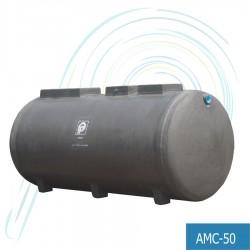 ถังบำบัดน้ำเสีย แอโรแมกซ์ (รุ่น AMC-50 ปริมาณ น้ำเสีย 50 ลบ.ม.)