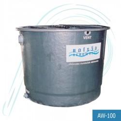 ถังบำบัดน้ำเสีย แอโรวีล (รุ่น AW-100 ปริมาณน้ำเสีย/วัน 100.0 ลบ.ม./วัน)