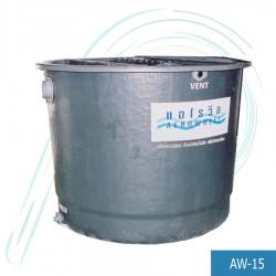 ถังบำบัดน้ำเสีย แอโรวีล (รุ่น AW-15 ปริมาณน้ำเสีย/วัน 15.0  ลบ.ม./วัน)