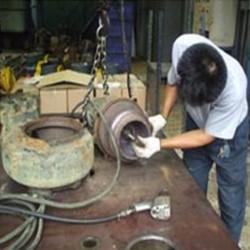 บริการซ่อมปั๊มสูบน้ำเสีย TSURUMI Pump