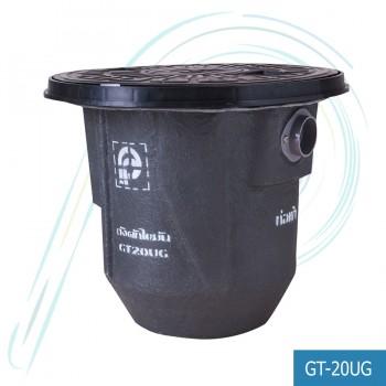ถังดักไขมัน ไฟเบอร์กลาส แบบฝังดิน (รุ่น PP-GT-20UG ปริมาตรถัง 20 ลิตร)