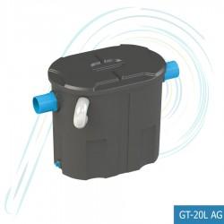 ถังดักไขมัน PE แบบตั้งพื้น (รุ่น GT-20L AG ความจุ 20 ลิตร)