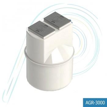 ระบบดักและระบายไขมันอัตโนมัติ Auto Grease Remover (รุ่น AGR-3000 ความจุ 3000 ลิตร)