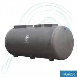 ถังบำบัดน้ำเสีย แอโรแมกซ์ (รุ่น PCA-200 ปริมาณ น้ำเสีย 200 ลบ.ม.)