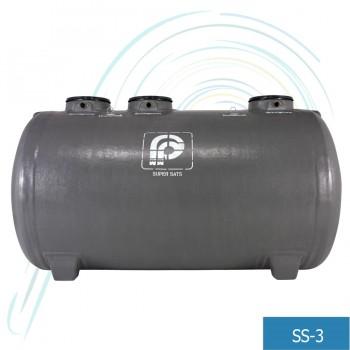 ถังบำบัดน้ำเสีย ซูเปอร์แซทส์ (รุ่น SS-3 อัตราการบำบัด 3 ลบ.ม/วัน)