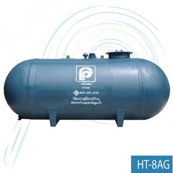 ถังเก็บน้ำ บิ๊กแท้งค์ ถังตั้งพื้นแนวนอน (รุ่น HT-8AG ความจุ 8 ลบ.ม)