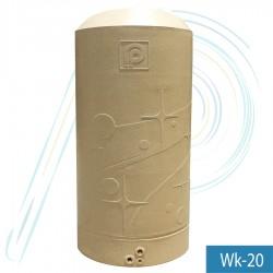 ถังเก็บน้ำ  พีพี วิงค์ (รุ่น PP-WINK-20 ความจุ 2000 ลิตร ) ท่อนอก