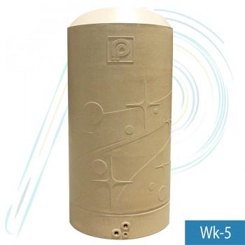 ถังเก็บน้ำ  พี.พี. วิงค์ (รุ่น WINK-5 ความจุ 500 ลิตร ) ท่อนอก