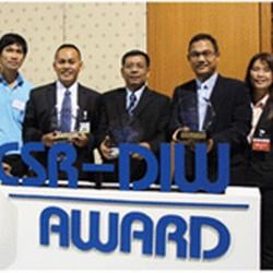บ.พรีเมียร ได้รับรางวัล CSR-DIW 2 รางวัล